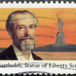 USA - 1985: shows Frederic Auguste Bartholdi (1834-1904), Statue of Liberty - Stock Photo