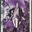 Stock Photo: MONACO - 1956: shows George Washington (1732-1799)