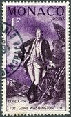 MONACO - 1956: shows George Washington (1732-1799) — Stock Photo