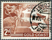GOLD COAST - 1949: devoted Universal Postal Union (1874-1949) — Stock Photo