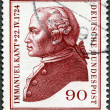 GERMANY- 1974: shows Immanuel Kant (1724-1804), philosopher — Stock Photo #11037374