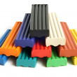 Stock Photo: Color children's plasticine