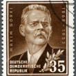 GERMANY - 1953: shows Maxim Gorky (1868-1936), a Russian writer — Stock Photo