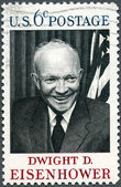 USA - 1969 : shows Dwight D. Eisenhower, 34rd President (1890-1969) — Stock Photo