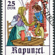 "GERMANY - 1978: shows Scene from fairy tale ""Rapunzel"" — Foto de Stock"
