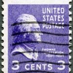 USA - 1938: shows President Thomas Jefferson (1801-1809) — Stock Photo