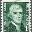 US- 1965: shows President Thomas Jefferson (1801-1809) — Stock Photo #12002311