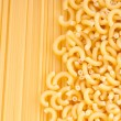 Different kinds of italian pasta. — Stock Photo