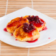 Cheese pancakes — 图库照片