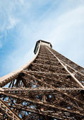 The Eiffel Tower in Paris, France. — Stock Photo
