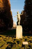 "Statue ""L'acteur grec"" in Jardin du Luxembourg in Paris. — Stock Photo"