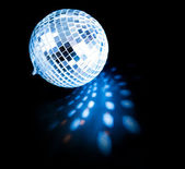 Disco ball background close up — Stock Photo