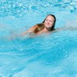 Stock Photo: Girl Swimming