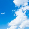 Background abstract: blue sky — Stock Photo