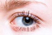Closeup shot of eye — Stock Photo