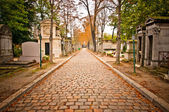 Pere-lachaise cemetery, Paris, France — Stock Photo