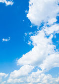 Background abstract: blue sky — Fotografia Stock