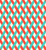 Retro seamless wicker pattern. — ストックベクタ