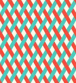 Retro sömlös flätade mönster. — Stockvektor