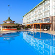 Swimming pool at the hotel, Turkey — Stock Photo