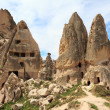 Unique geological formations, Cappadocia, Turkey — Stock Photo #11300522