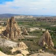 Unique geological formations, Cappadocia, Turkey — Stock Photo #11382493