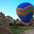 The balloon at the start in Cappadocia — Stock Photo