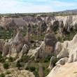 Unique geological formations, Cappadocia, Turkey — Stock Photo #11729335