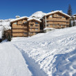 Mountain ski resort - Stockfoto