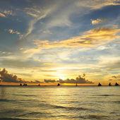 Hermosa puesta de sol — Foto de Stock