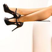 Woman's legs — Stok fotoğraf