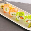 Sushi rolls - Foto Stock