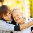 Happy mother and son — Stock Photo #11329642
