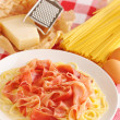 Pasta carbonara - Stock Photo