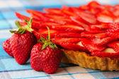 Torta de morango — Fotografia Stock