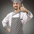 Male cook in apron — Stock Photo #11077221