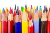 彩色铅笔在创意概念 — 图库照片