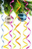 白の休日のクリスマスの装飾 — ストック写真