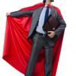 Superman isolated on the white background — Stock Photo #11582772