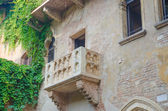 Famous Juliet balcony in Verona — Stock Photo