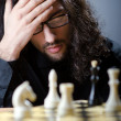 Chess player playing his game - Photo