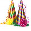 Hats streamers and other stuff for party — Stock Photo #12323146