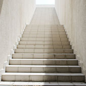 Long stairs with many steps — Stock Photo