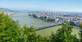 Panorama of Budapest, Hungary — Stock Photo