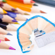 Color pencils background — Stock Photo #11463178