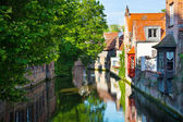 Bruges, medieval city in Belgium — Stock Photo