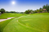 Golf course — Stockfoto