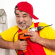 Portrait of handyman — Stock Photo