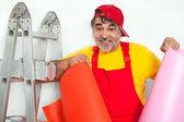 Portrait of handyman — Stock Photo