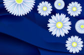 Daisies and marguerites — Stock Photo